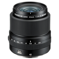 New Fujifilm FUJINON GF 45mm F2.8 R WR Lens (1 YEAR WARRANTY)