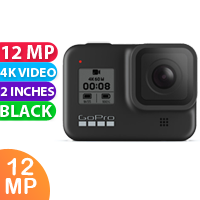 New GoPro Hero 8 Black Camera (FREE DELIVERY + 1 YEAR WARRANTY)