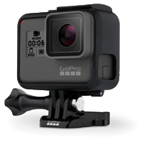 New GoPro HERO6 Black 4K Ultra HD Camera (FREE DELIVERY + 1 YEAR WARRANTY)