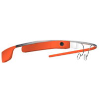 New Google Glass Explorer Edition V3 2GB Orange Tangerine Glasses (STANDARD DELIVERY)