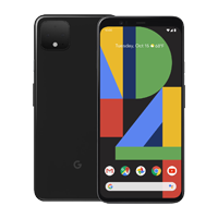UNLOCKED New Google Pixel 4 128GB 6GB RAM 4G LTE Smartphone Just Black (FREE DELIVERY + 1 YEAR WARRANTY)