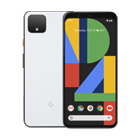 UNLOCKED New Google Pixel 4 XL 128GB 6GB RAM 4G LTE Smartphone Clearly White (FREE DELIVERY + 1 YEAR WARRANTY)