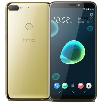 UNLOCKED New HTC Desire 12+ Dual SIM 32GB 4G LTE SmartPhone Gold (FREE DELIVERY + 1 YEAR WARRANTY)
