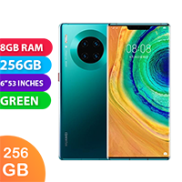UNLOCKED New Huawei Mate 30 Pro 256GB 8GB RAM 5G Smartphone Emerald Green (FREE DELIVERY + 1 YEAR WARRANTY)
