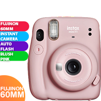 New Fujifilm Instax Mini 11 Camera Blush Pink (FREE DELIVERY + 1 YEAR WARRANTY)