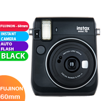 New FujiFilm Instax Mini 70 Camera Black (FREE DELIVERY + 1 YEAR WARRANTY)