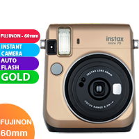 New FujiFilm Instax Mini 70 Camera Gold (FREE DELIVERY + 1 YEAR WARRANTY)