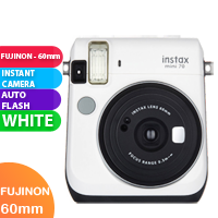 New FujiFilm Instax Mini 70 Camera White (FREE DELIVERY + 1 YEAR WARRANTY)