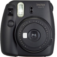 FujiFilm Instax Mini 9 Camera Black (FREE DELIVERY + 1 YEAR WARRANTY)