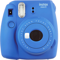 FujiFilm Instax Mini 9 Camera Cobalt Blue (FREE DELIVERY + 1 YEAR WARRANTY)