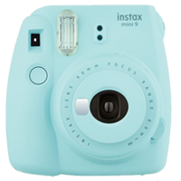 FujiFilm Instax Mini 9 Camera Ice Blue (FREE DELIVERY + 1 YEAR WARRANTY)