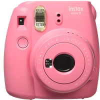 FujiFilm Instax Mini 9 Camera Pink (FREE DELIVERY + 1 YEAR WARRANTY)