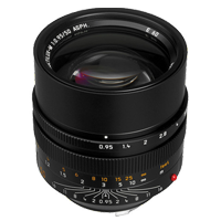New Leica NOCTILUX-M 50mm f/0.95 ASPH Lens Black (FREE DELIVERY + 1 YEAR WARRANTY)