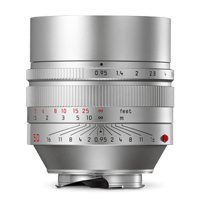 New Leica NOCTILUX-M 50mm f/0.95 ASPH Lens Silver (FREE DELIVERY + 1 YEAR WARRANTY)