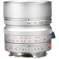 New Leica SUMMILUX-M 50mm f/1.4 ASPH Lens Silver (FREE DELIVERY + 1 YEAR WARRANTY)