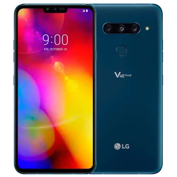 UNLOCKED New LG V40 ThinQ Dual SIM 128GB 4G LTE Smartphone Moroccan Blue  (FREE DELIVERY + 1 YEAR WARRANTY)