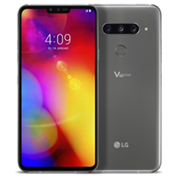 UNLOCKED New LG V40 ThinQ Dual SIM 128GB 4G LTE Smartphone Platinum Gray (FREE DELIVERY + 1 YEAR WARRANTY)