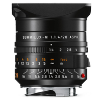 Leica SUMMILUX-M 28mm f/1.4 ASPH Lens Black (1 YEAR WARRANTY)