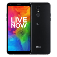 UNLOCKED New LG Q7+ Dual SIM 64GB 4G LTE Smartphone Black (FREE DELIVERY + 1 YEAR WARRANTY)