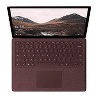 New Microsoft Surface Laptop i7 512GB 16GB Ram Burgundy (FREE DELIVERY + 1 YEAR WARRANTY)