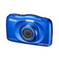 New Nikon Coolpix W150 Digital Compact Camera Blue (FREE DELIVERY + 1 YEAR WARRANTY)