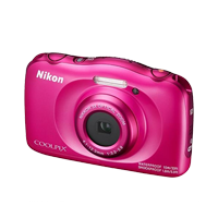 New Nikon Coolpix W150 Digital Compact Camera Pink (FREE DELIVERY + 1 YEAR WARRANTY)