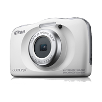 New Nikon Coolpix W150 Digital Compact Camera White (FREE DELIVERY + 1 YEAR WARRANTY)