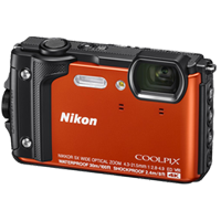 New Nikon Coolpix W300 16MP Digital Camera Orange (FREE DELIVERY + 1 YEAR WARRANTY)