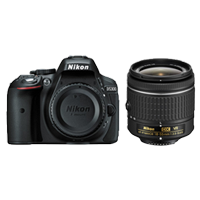 Nikon D5300 24MP AF-P (18-55mm) VR Black (1 YEAR WARRANTY)