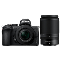New Nikon Z50 Mirrorless Twin Lens Kit (16-50)(50-250) Digital Camera (FREE DELIVERY + 1 YEAR WARRANTY)