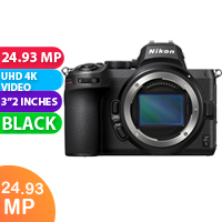 New Nikon Z5 Body (With Adapter) Camera (FREE DELIVERY + 1 YEAR WARRANTY)