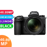 New Nikon Z7 II Mirrorless Digital Camera with 24-70mm f/4 Lens (With Adapter) (FREE DELIVERY + 1 YEAR WARRANTY)