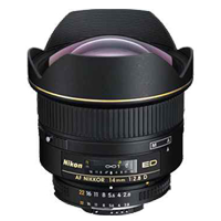 New Nikon AF Nikkor 14mm f/2.8 D 14 F2.8 ED Lens D700 (FREE DELIVERY + 1 YEAR WARRANTY)