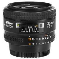 New Nikon AF Nikkor 35mm f/2D 35 mm F2 D (FREE DELIVERY + 1 YEAR WARRANTY)