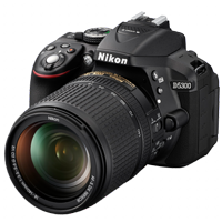 New Nikon D5300 24MP 18-140 VR Kit Black (FREE DELIVERY + 1 YEAR WARRANTY)