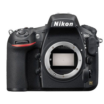 New Nikon D810 DSLR 36MP Body Black (FREE DELIVERY + 1 YEAR WARRANTY)