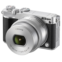 Nikon 1 J5 20MP Kit 10-30mm Lens Digital Camera Silver (1 YEAR WARRANTY)