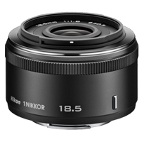 Nikon 1 NIKKOR 18.5mm f/1.8 Lens Black (1 YEAR WARRANTY)