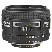 New Nikon AF NIKKOR 50mm f/1.4D Lens (FREE DELIVERY + 1 YEAR WARRANTY)