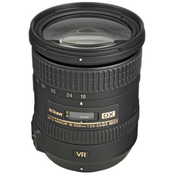 New Nikon AF-S DX NIKKOR 18-200mm f/3.5-5.6G ED VR II Lens (FREE DELIVERY + 1 YEAR WARRANTY)