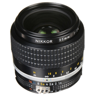 New Nikon NIKKOR AIS 35mm f/1.4 Manual Focus Lens (FREE DELIVERY + 1 YEAR WARRANTY)