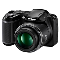 Nikon Coolpix L340 20MP Digital Camera Black (1 YEAR WARRANTY)
