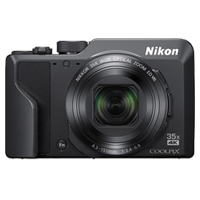 New Nikon Coolpix A1000 16MP Digital Camera Black (FREE DELIVERY + 1 YEAR WARRANTY)