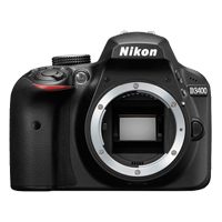 New Nikon D3400 24MP Body Only Digital Camera Black (FREE DELIVERY + 1 YEAR WARRANTY)
