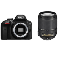 New Nikon D3400 Kit AF-S (18-140 VR) Digital Camera Black (FREE DELIVERY + 1 YEAR WARRANTY)