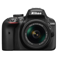 New Nikon D3400 Kit AF-P (18-55 VR) Digital Camera Black (FREE DELIVERY + 1 YEAR WARRANTY)