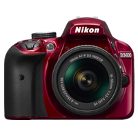 New Nikon D3400 Kit AF-P (18-55 VR) Digital Camera Red (FREE DELIVERY + 1 YEAR WARRANTY)