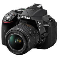 New Nikon D5300 24MP (18-55mm) VR II Kit Black (FREE DELIVERY + 1 YEAR WARRANTY)