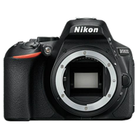 New Nikon D5600 24MP Body Digital SLR Camera Black (FREE DELIVERY + 1 YEAR WARRANTY)