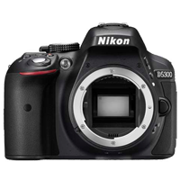 New Nikon D5300 24MP Body Kit Black (FREE DELIVERY + 1 YEAR WARRANTY)